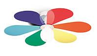 Настенно-потолочный светильник для детской комнаты Ideal Lux 141350 Flower PL1 D60