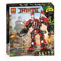 Конструктор Bela 10720 Ниндзяго Огненный робот Кая (аналог Lego Ninjago Movie 70615)