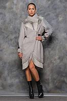 Женское пальто с мехом Джесс, фото 1