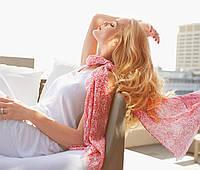 Женский легкий шарф шаль от ТСМ Tchibo