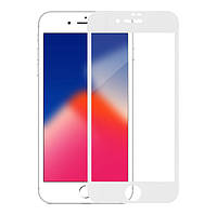 Защитное стекло MakeFuture для Apple iPhone 8 3D White (MG3D-AI8W)
