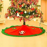 Рождественская юбка коврик для елки