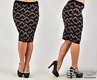 Теплая  женская юбка  шерсть большого  размера уни 50-56