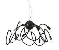 Подвесной светильник для детской комнаты Ideal Lux 141916 Multiflex SP8 Nero
