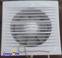Вентилятор бытовой вытяжной со шнуром (вкл/выкл), Ø125, ST 843-1