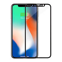 Защитное стекло MakeFuture для Apple iPhone X Black (MG3D-AIXB)