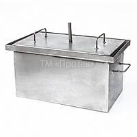 Коптильня (коптилка) горячего копчения (2 мм, сталь, большая)