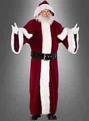 Люксовый костюм Деда Мороза или Санта Клауса