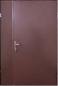 Полуторні двері REDFORT Технічні RAL8017