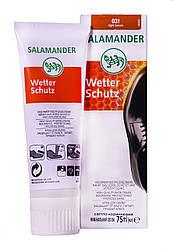 """Крем для обуви Salamander """"Wetter Sсhutz"""" 75 ml (цвет светло-коричневый 031)"""
