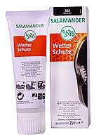 """Крем для обуви Salamander """"Wetter Sсhutz"""" 75 ml (цвет темно-коричневый 033)"""