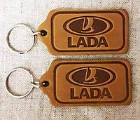 Автомобильный брелок Lada (Лада,Жигули), брелки для автомобильных ключей, автобрелки, брелок кожаный