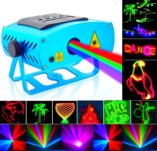 LED прожекторы и лазерные проекторы
