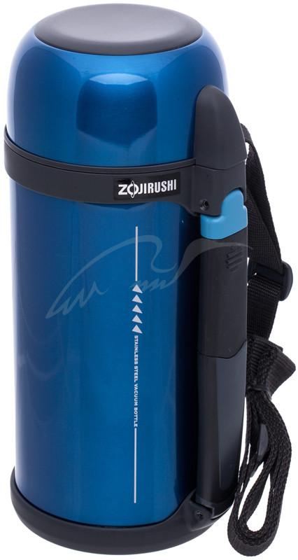 Термос ZOJIRUSHI SF-CС15AН 1.5 л (складная ручка+ремешок) ц:синий (SX-DD30NZ)