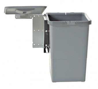 Відро для сміття SWING поворотне з автоматичним відкриванням 12л. Elletipi