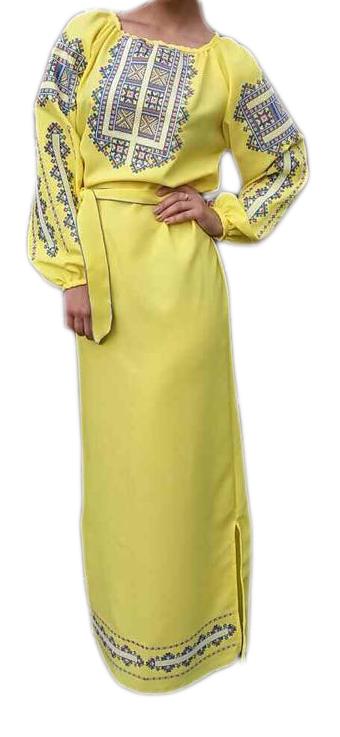 """Жіноче вишите плаття """"Ерлані"""" (Женское вышитое платье """"Ерлани"""") PL-0026"""