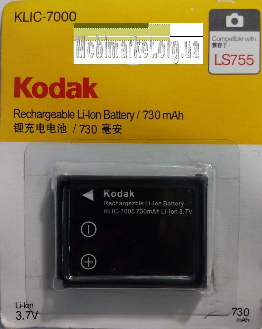 Акумуляторна батарея KODAK KLIC-7000