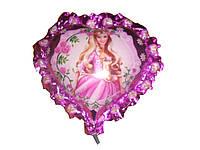 Шарики из фольги Принцесса на палочке