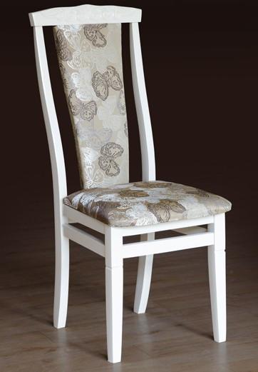 Деревянный стул Чумак-2 Микс, белого цвета