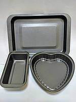 Набір форм для випічки Товарpeterhoff PH-15492 (3 предмета), фото 1