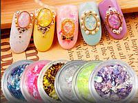 Слюда для дизайна ногтей, фото 1