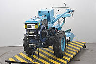 Мотоблок Добрыня TP101E+сиденье(11 л.с.,дизельный,электростартер)