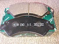Тормозные колодки передние Citroen Jamper Fiat Ducato Peugeot Boxer 2006->  (R16)(3032332)