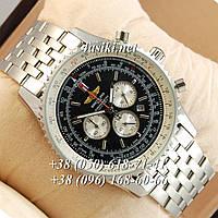 Часы Breitling Chronometre Silver/Black