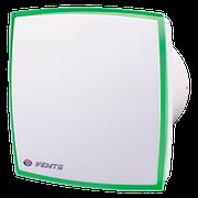 Вентилятор Вентс 100 ЛД Лайт (зеленый), вентилятор бытовой, вентилятор на подшипнике.