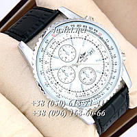 Часы Breitling Navitimer World Silver-White