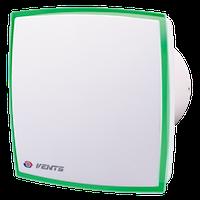 Вентилятор Вентс 125 ЛД Лайт ( зеленый, красный), вентилятор на подшипнике, вентилятор бытовой.