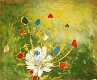 "Картина ""Ясен цвет"", 50х61см, акрил"