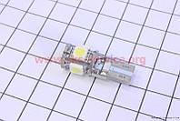Лампа 5ти-диодная стоп/габарит T20