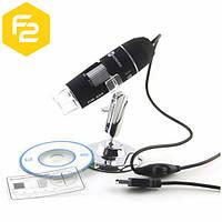 USB Микроскоп цифровой с увеличением до 500Х и подсветкой, DM-500