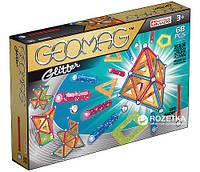 Конструктор магнитный Geomag Color GLITTER 68 деталей