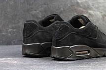 Мужские кроссовки Nike Air Max 87 замшевые, черные, фото 3