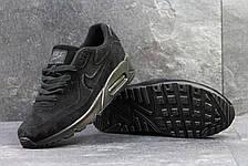 Мужские кроссовки Nike Air Max 87 замшевые, черные, фото 2