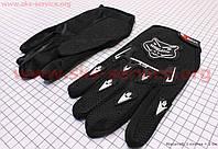 Спортивные перчатки черные