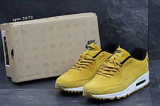 Чоловічі кросівки Nike Air Max 87 замшеві,руді