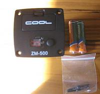 Встраиваемый тюнер для акуст. гитары COOL ZM-500