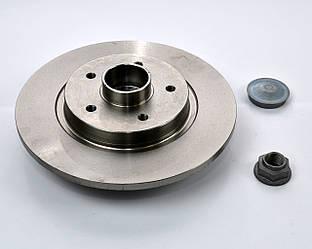 Гальмівний диск задній з підшипник на Renault Kangoo II 2008-> - SNR (Італія) - KF155.94U