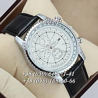 Часы Breitling 7810 Black-Silver-White