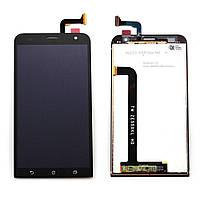 Дисплей (экран) для Asus ZenFone 2 Laser (ZE550KL) + тачскрин, черный