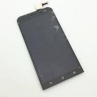 Дисплей (экран) для Asus ZenFone 2 Laser (ZE500KL, ZE500KG, ZE500ML)  с тачскрином в сборе, черный , фото 1