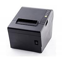 Принтер чеков HPRT TP806 Ethernet+USB черный (лучшая скорость, встроенный автообрезчик)