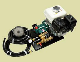 Високопродуктивний насос трьохпоршневий для обприскувача з циліндром із неіржавіючої Maruyama MSD41 12.5 кг, фото 3