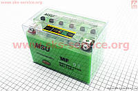 Аккумулятор 9,5Аh (гелевый, зеленый) 150/85/105мм с ИНДИКАТОРОМ