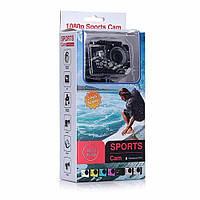 Экшн камера Sport Cam HD Водонепроницаемая крепление на руль и шлем