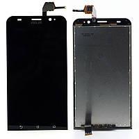 Дисплей (экран) для Asus ZenFone 2 (ZE550ML) + тачскрин, черный