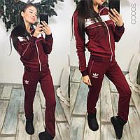 Женские костюмы adidas !!!  ткань турецкая двунитка‼2 расцветки ,фото реал ,супер качество нн1 №398